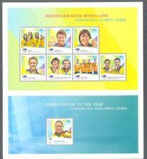 Australia- 2012 Olympic Games London Gold Medal Winners sheet-mnh