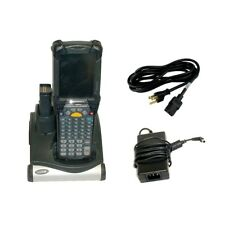 Symbol Mc9090 Motorola Pocket Pc Handheld Scanner w/Adapter & Charger Dock
