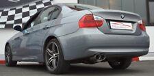 FMS 70mm Edelstahl Sportauspuff BMW 325d 330d E90 Limousine Bj 2005-2012