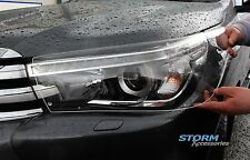TOYOTA HILUX MK8 2016 onwards EGR Clear Head Light Guards / Protectors - Pair