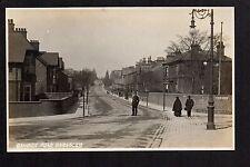 Barnsley - Gawber Road - real photographic postcard