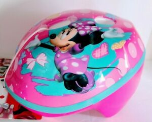 Bell Disney Minnie Mouse Bike Skateboard Helmet Pink Toddler Kids 3-5 Years NEW