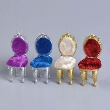 1 x Miniature chaise siège bricolage 1:25 maison de poupée meubles doigt jouets
