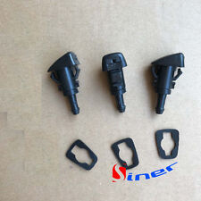 3 x Windshield Washer Nozzle & Gasket Front Fits Jeep Patriot 2008-2015 5303834A