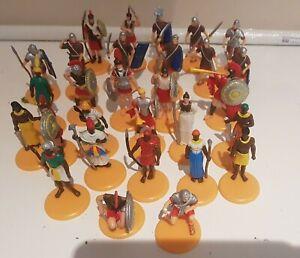 Roman Soldier Figures X13, Ancient Greek Figures X  7, North African Figures X9