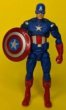 "CAPTAIN AMERICA 6"" action figure 2012 Walmart Exclusive Marvel Legends Avengers"