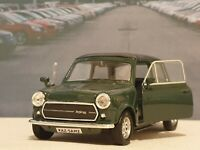 NEW BOYS TOYS CLASSIC MINI COOPER S 1300 GREEN PERSONALISED MODEL CAR CHRISTMAS