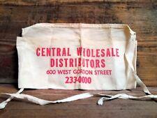 Central Wholesale Distributors Topeka, Kansas ~ New Old Stock~