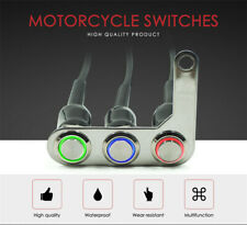 Left Motorcycle Switch ON-OFF Headlight Fog Light Horn Start Kill Handlebar