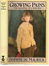 DAPHNE DU MAURIER GROWING PAINS THE SHAPING OF A WRITER EX-LIBRARY HB DJ 1977