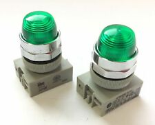 IDEC APW-199 PILOT LIGHT GREEN 22 MM NEW
