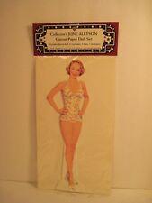 June Allyson Celebrity Paper Dolls