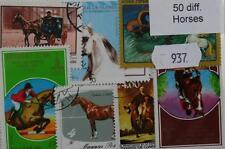 Francobolli a tema animali a tema cavalli