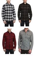 NEW Jachs Men's 9oz Cotton Flannel Brawny Flannel Shirt - VARIOUS COLORS & SIZES