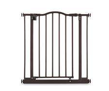 Windsor Arch Pet Dog Metal Gate Fence, Door or Hallway, Adjustable 28.5-Inch