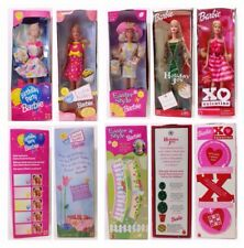 Lot of 5 Barbie Birthday Party  Easter Treats  XO Valentine  Holiday Joy  Easter