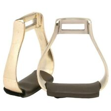 """Australian Outrider Collection Aluminum Stirrup Irons with 2"""" Tread and 2"""" Neck"""