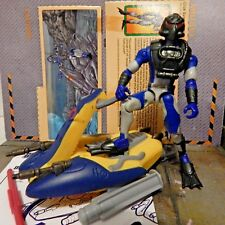 GI JOE ~ 2003 DEPTH CHARGE & WAVE CRUSHER ~ JET SKI  ~ SPY TROOPS ~100% & CARD