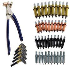 Fixation temporaire Cleco goupilles rivets (40) Pinces et 5 colliers bord tôle