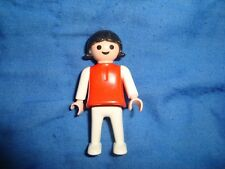 "Playmobil 1981 geobra Girl Red Dress 2"" tall"