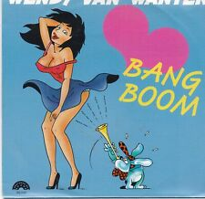Wendy Van Wanten-Bang Boom vinyl single