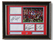 More details for framed crystal palace 1991 zds winners signed photo display coa thomas martyn ++
