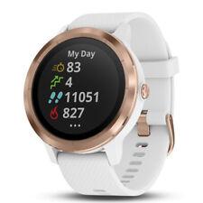 GPS Garmin Vivoactive 3 Reloj Inteligente (blanco con oro rosa) (010-01769-09)