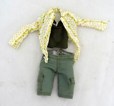 Flowers Floral Country Barbie Doll Clothes Lot Shorts Fashion Top Jacket Outfit