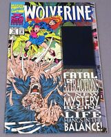 WOLVERINE #75 (Fatal Attractions Blue/Green Hologram ) Marvel Comics 1993 - NEW