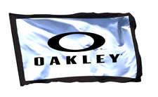Oakley Flag Banner 3x5 ft Sunglasses Promotion Wall Garage Man Cave Sticker