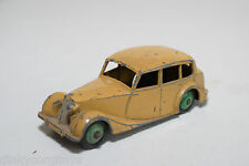DINKY TOYS 151 TRIUMPH 1800 SALOON LIGHT BROWN EXCELLENT CONDITION