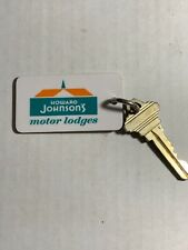 Howard Johnson's Motel Hotel Room Key Fob with Key Atlanta Georgia