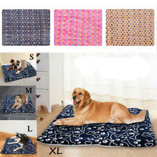 Pet Washable Home Blanket Cat Dog Bed Cushion Mattress Kennel Soft Crate Mat SML