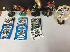 Skylanders Lot Of 5 Assorted Figures Legendary Jawbreaker, Wham Shell