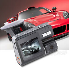 "360°Rotation Dash Cam 2.7"" HD LCD Car Vehicle Video Camera Recorder DVR G-Sensor"