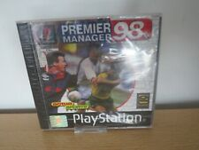 Premier Manager 98  Sony PlayStation 1,ps1 new sealed pal
