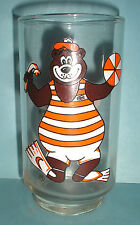 Vintage A&W Glass Cup Snorkeling Bear