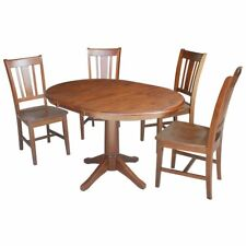Round Extending Dining Furniture Sets For Sale Ebay