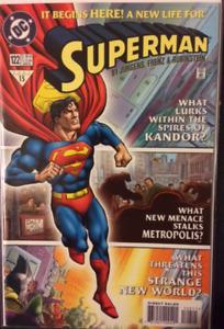 DC Comics Superman # 122 1997 VF