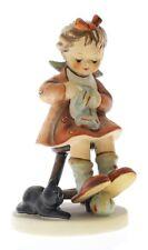 Goebel Hummel Figurine #133 Mother's Helper TMK 5 Girl Darning Sock