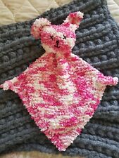 Hand Knitted Cuddle bunny