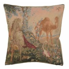 Set of 2 Cheval Drape I French Tapestry Cushion Pillow covers 19 x 19