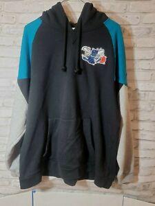 Mitchell & Ness Men 2XL Charlotte Hornets Hardwood Classics Pullover Hoodie