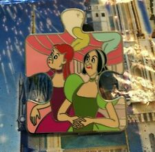 KING Disney CINDERELLA Character Connection Mystery Puzzle Pin LE900