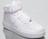 Nike Air Force 1 Mid '07 Men's White Athletic Casual Lifestyle Sneakers Shoes