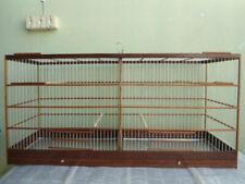 CAGE WOOD BIRDS CANARY MEASURES HEIGHT  50 CM WIDTH 32 CM LENGTH 1.02 CM