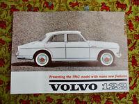 Volvo PV 122 the 1962 model Amazon  US Brochure Prospekt TOP neuwertig