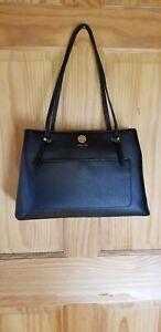 Anne Klein Handbag Purse Black Gold Medium/Small  New w/o tags. FREE SHIPPING