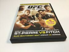 UFC 87 - Seek And Destroy - St-Pierre Vs Fitch - DVD - Free Postage
