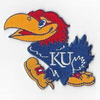 NCAA Kansas Jayhawks KU Iron on Patches Embroidered Patch Applique Badge Emblem